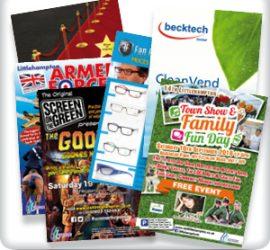 Leaflet Flyer printing Worthing